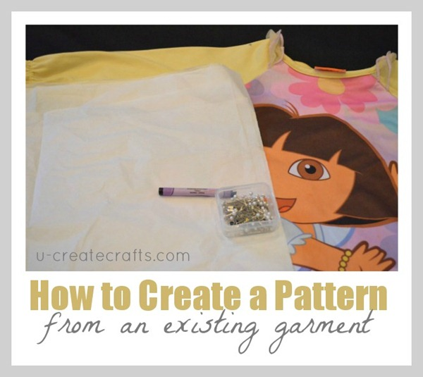 How to create a pattern from an existing garment