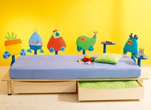 kids' platform bed