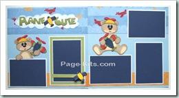 plane cute page kit-500
