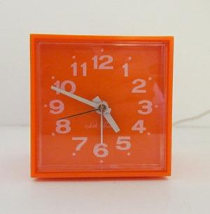 Seth Thomas Minicube alarm clock