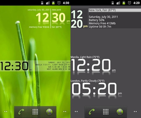 advance-clock-widget