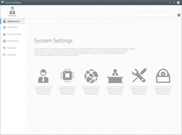 KDE Plasma Next - Systems Settings
