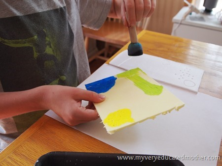 summerfunprints2 #kidsartprojects #paintingwithkids #summerfun