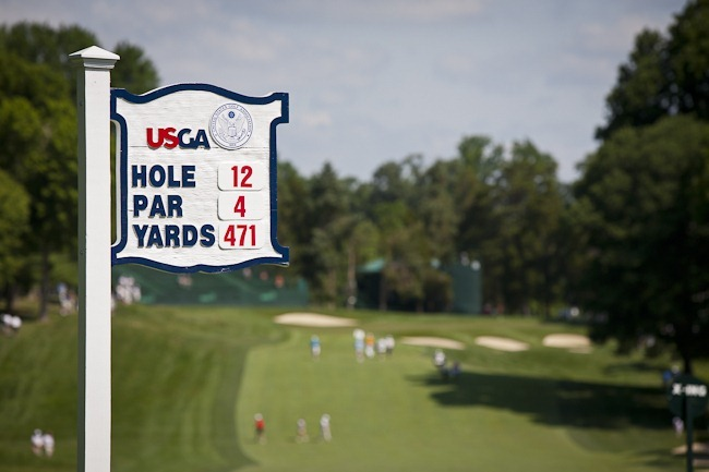 12 Hole at 2011 US Open