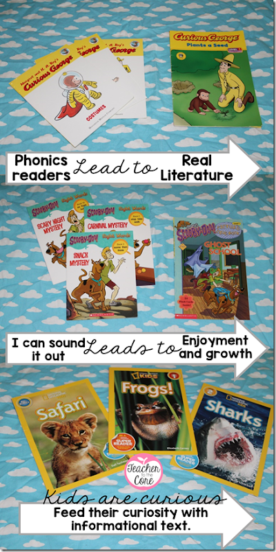 Kids are curious about the world- teach them to read by capitalizing on what they love