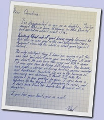 Shame.Letter