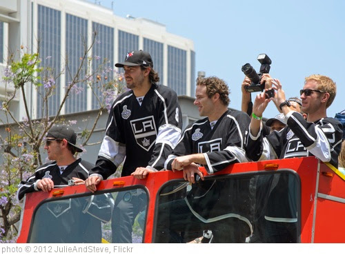 'Los Angeles Kings Stanley Cup victory parade' photo (c) 2012, JulieAndSteve - license: https://creativecommons.org/licenses/by/2.0/