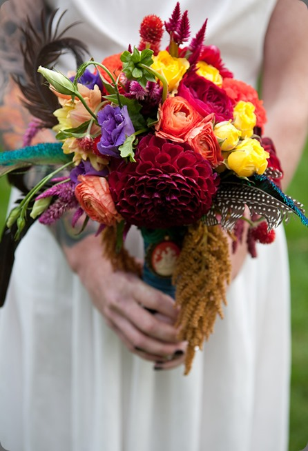 colorful bouquets IMG_6632 flora fauna rock n roll bride