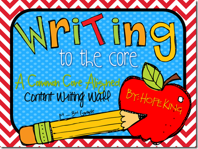 writing and the common core