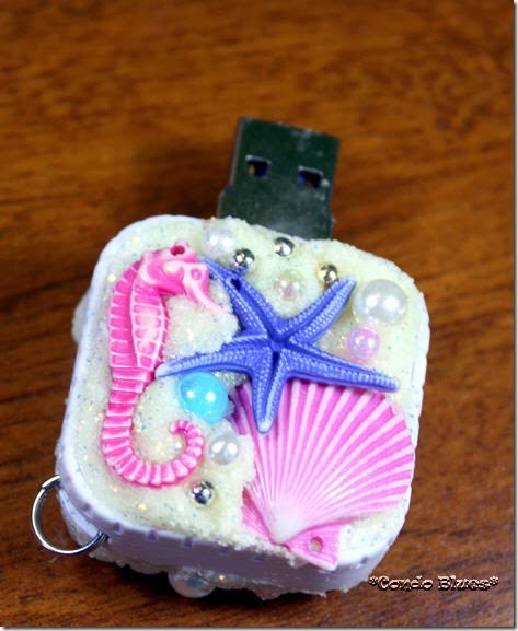 how to decorate a flash drive