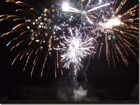 Wistaston Fireworks Display - publicity photo