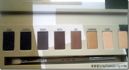 Sigma Beauty Bare Eye Palette Review Swatch