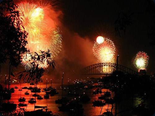 fireworks sidney