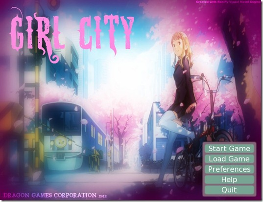 Girl City freeware game (2)