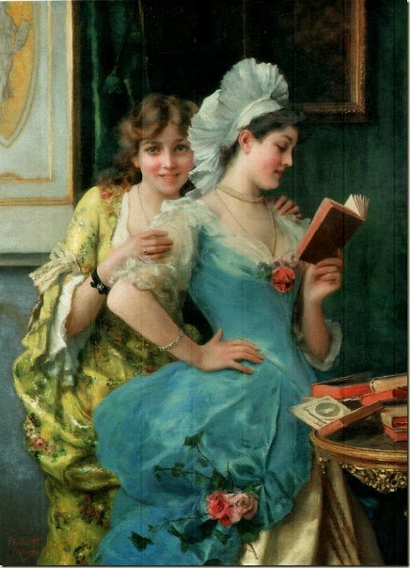 Federico Andreotti, Portrait de jeunes femmes