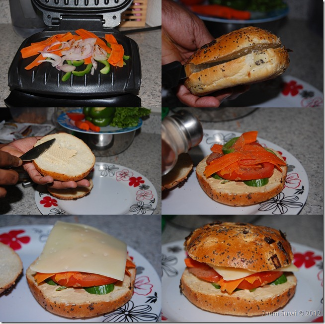 Sandwich arrangement