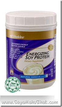 Energizing Soy Protein_Shaklee_Tambah Susu_Diet_Shaklee One Stop Centre