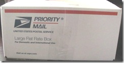 Military package flat rate priority15.95 size box