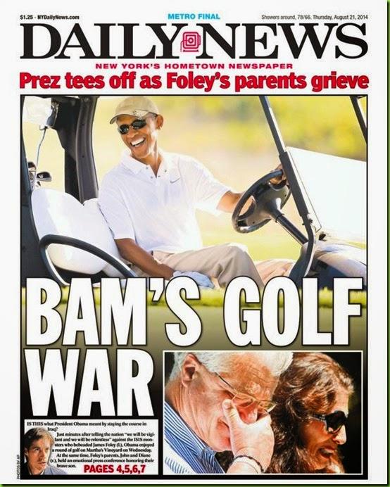 obama's golf war