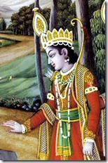 [Rama with bow]