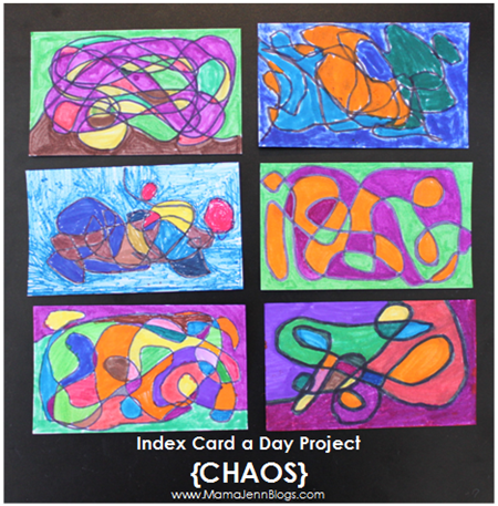Index Card a Day {CHAOS}