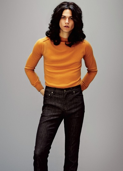 Miles McMillan by Jason Kim for OUT, May 2012.  Stylist | Grant Woolhead