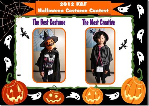 2012 Halloween Contest -  Mon - 2