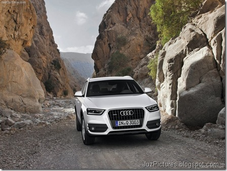 Audi Q3 - Front Angle6