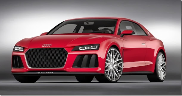 Faróis a laser é destaque do Audi Sport quattro laserlight