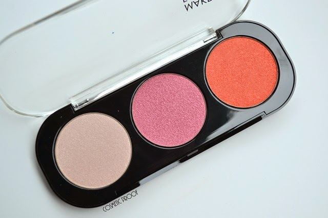 MAKE UP FOR EVER 50 Shades of Grey Desire Me Cheeky Blush Trio Review Swatches (4)
