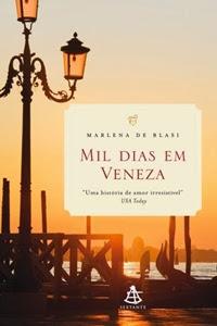 livro Mil Dias Em Veneza