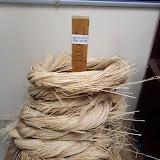 写真5::Rh. Mujahの人々が使っていたラタンは1kg=RM30で売られていた。