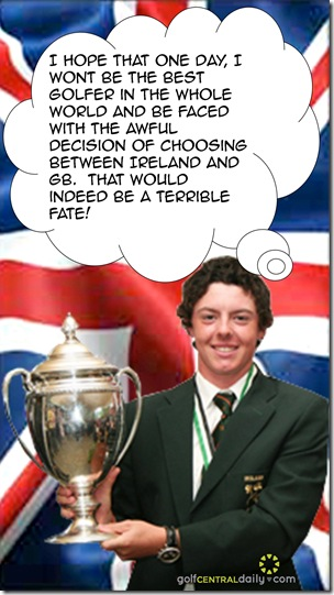 rory mcilroy  ireland funny pic