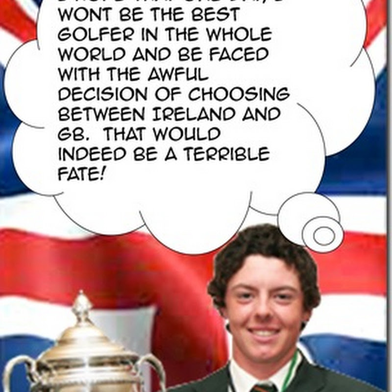 Hang On, Rory McIlroy Thinks He Might Be Irish Again. Party Back On!
