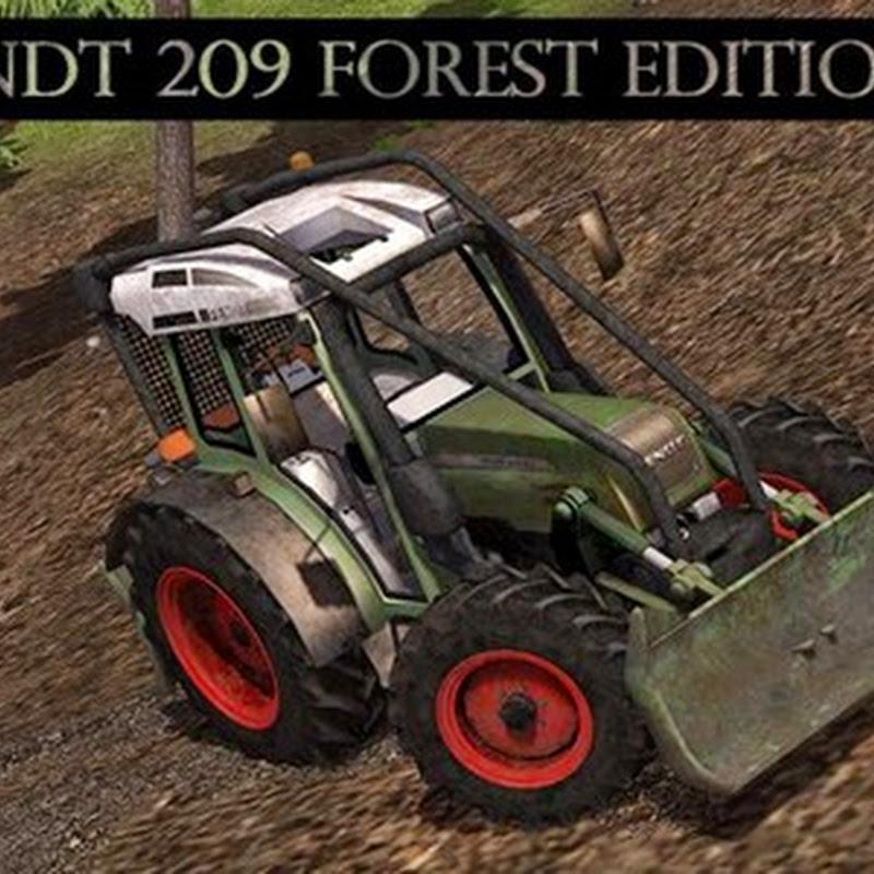 Farming simulator 2013 - Fendt 209 Forest Edition v 1.32 Forst