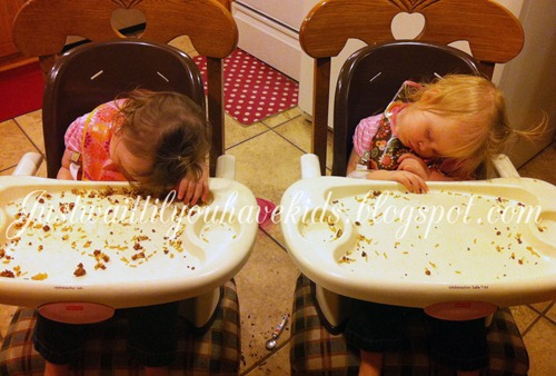 High Chair Nap