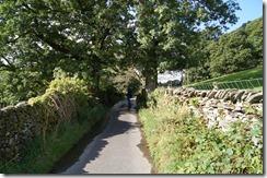 Hill top walk--perhaps the fatal error
