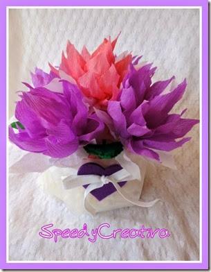 cestini di fiori di carta crespa (2)