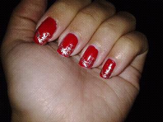 Red nautical star stamping bundle monster nail art