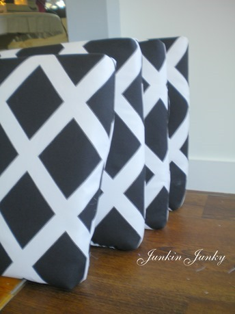 Easy cushion covers at Junkin Junky