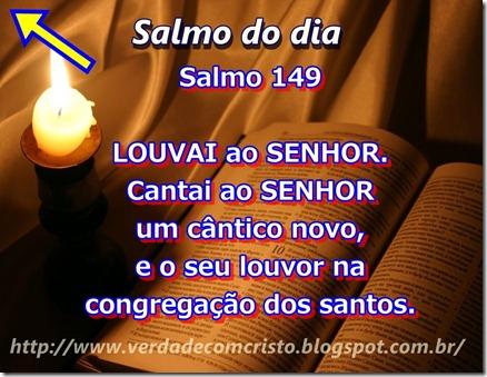 SALMO DO DIA 149