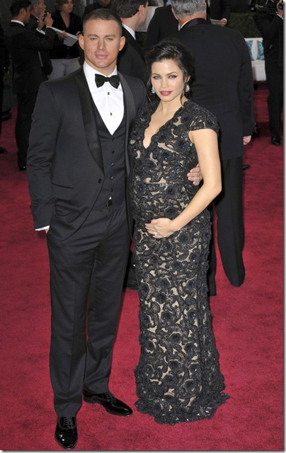 2013 Oscar's Best Beauty Hits... And Some Misses~Channing Tatum and Jenna Dewan