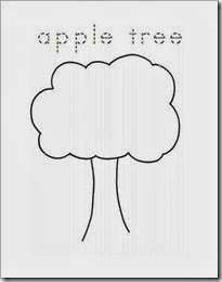 apple tree clip