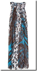 DvF leopard print maxi dress