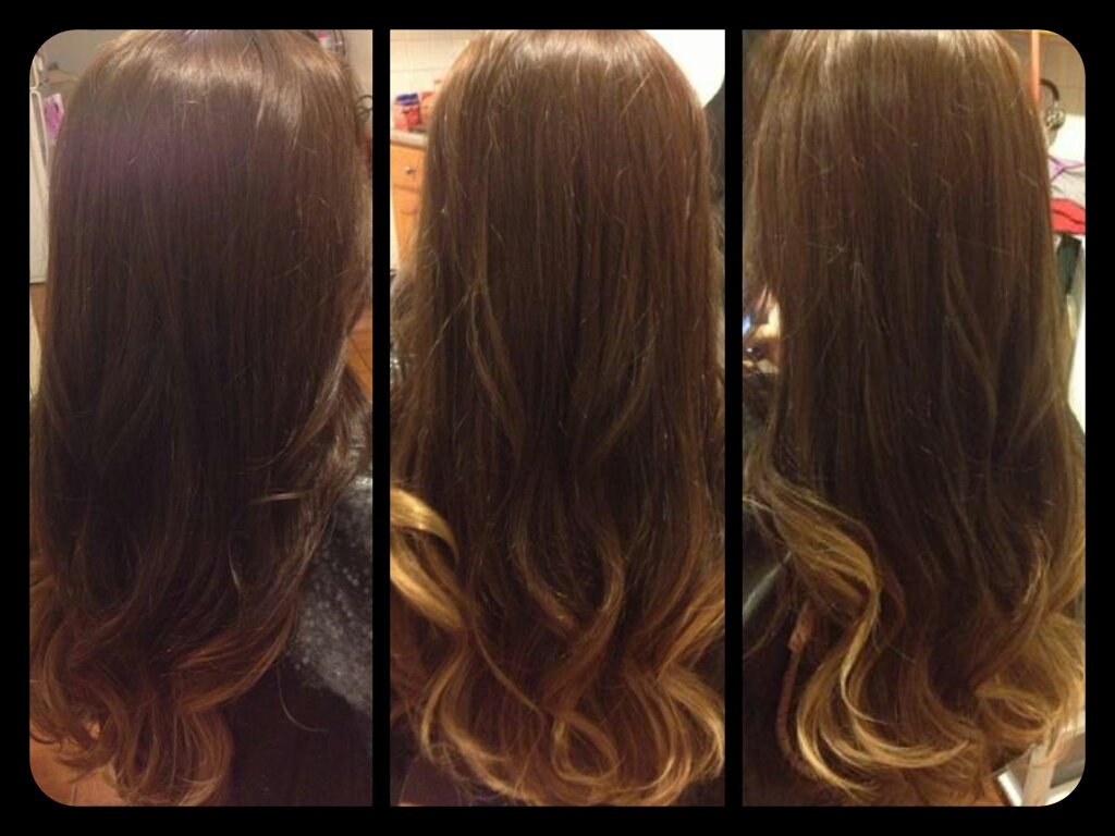 ... Hair Is Beautiful Hair..: Medium brown hair color w/caramel ombre