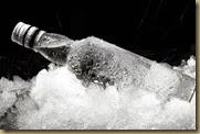 охлажденная водка
