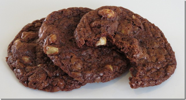 Chocolate Hazelnut Nutella Cookies 3