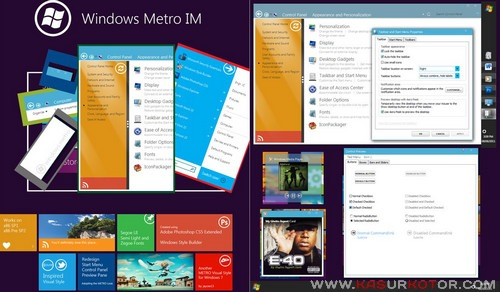 Download Windows Phone 7 Theme untuk WIndows 7 – Metro UI