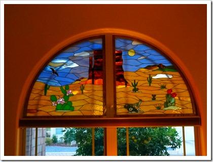 Angie's window