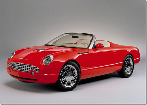 Thunderbird Sports Roadster Concept
